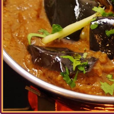 Bengan Curry mit Reis