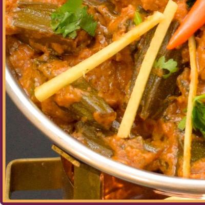 Lamb Bhindi